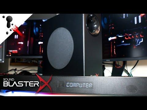 Sound BlasterX Katana RGB Sound Bar Review
