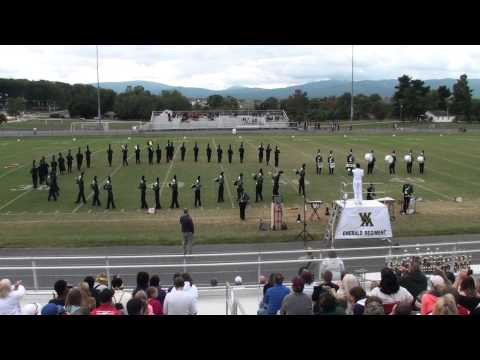 2013 Blast in the Draft - Wilson Memorial High School Emerald Regiment