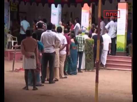 Tn Assembly Polls Jaya, Karunanidhi Cast Their Votes In Chennai
