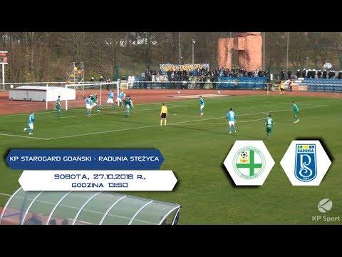 KP Starogard Gdański - Radunia Stężyca / LIVE / 3 Liga Gr. II [27.10.2018]