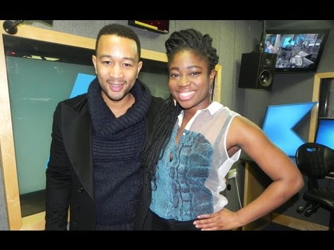 John Legend interview at KISS FM (UK)