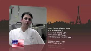 Watch Sylvain Bortolini, from the USA prepare for the World Chocolate Masters Final 2011