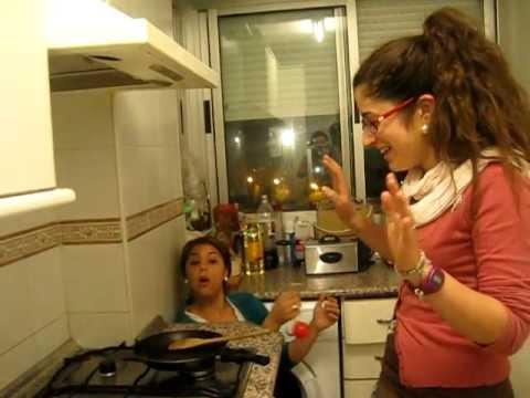 El tallarín en la cocina