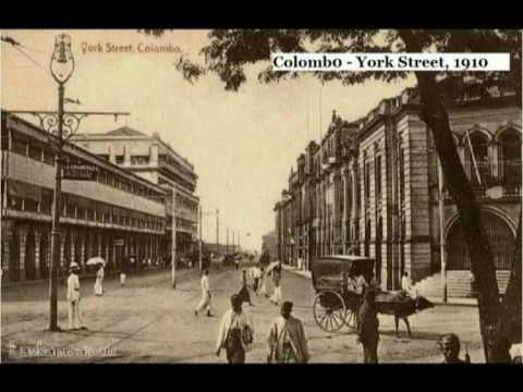 Sri Lankan's Seen at Colombo (100 Years ago)