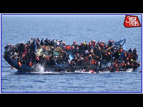 Migrant Ship From Libya Capsizes Off Italian Coast