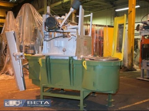 Used 2000 Lbs Gasmac Holding Natural Gas CNG Furnace No 3972