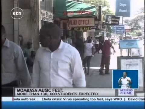 At least 124,000 students expected to participate in the two-week music festival in Mombasa