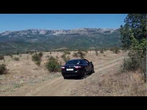 Путешествие в Крым на Renault Fluence, 2012г.