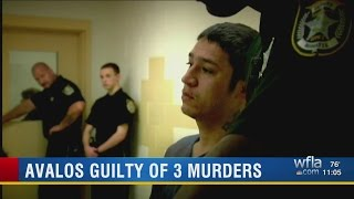 Avalos guilty of 3 murders-- Shoots Beautiful White Wife