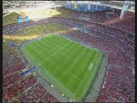 Finał Ligi Mistrzów 2013 (cały Mecz) PL  25.05.2013 Część 1