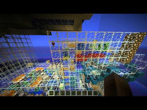 Minecraft creation: Fully automatic cobble farm - 5600 cobble/h