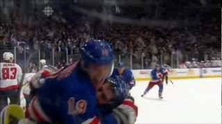 Brad Richards tying goal with 7 secs left!  Game 5 Caps @ Rangers