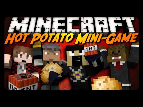 Minecraft: Hot Potato Ownage! (brand New Mini-game) video