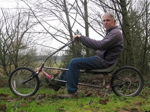 DIY recumbent bicycle