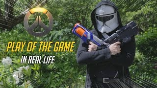 """OVERWATCH   """"PLAY OF THE GAME"""" IN REAL LIFE"""