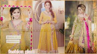 latest & top stylish bridal ubtan dresses styles and ideas 2019
