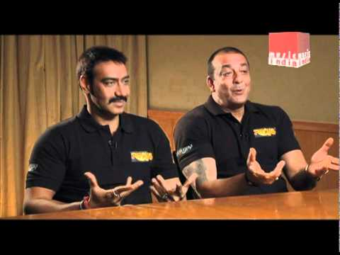 Ajay Devgan and Sanjay Dutt talk about their Real Life Friendship...