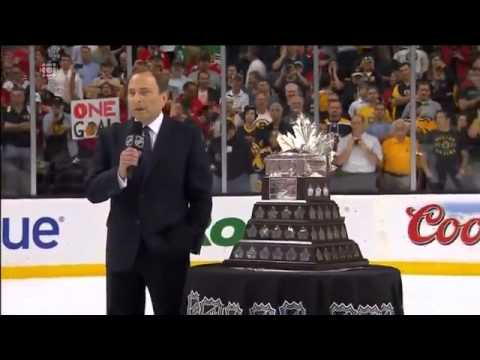 Chicago Blackhawks Win The Stanley Cup 2013 (FULL celebrations) CBC