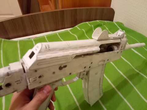 Как сделать акс-74у из бумаги