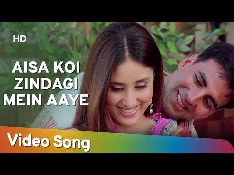 Aisa Koi Zindagi Mein Aaye | Dosti Songs | Akshay Kumar | Kareena Kapoor | Alka Yagnik | Filmigaane