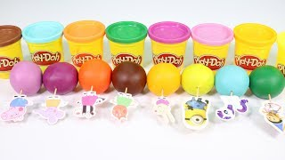 Play Doh Balls and Cookie Molds Fun & Creative for Kids