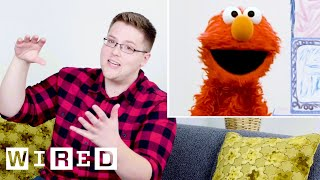 Sesame Street Puppeteers Explain How They Control Their Puppets | WIRED