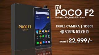 Poco F2 - Flagship Killer 🔥 Popup Camera, Indisplay Fingerprint, Triple Rear Camera | Pocophone F2