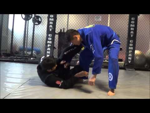 Lasso Sweep variations from Half Guard BJJ Image 1
