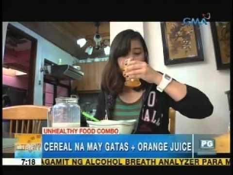 Unhealthy food combos exposed | Unang Hirit