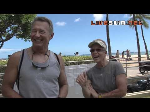 2010 Waikiki Rough Water Swim - Mike Mitchell & Patsee Ober