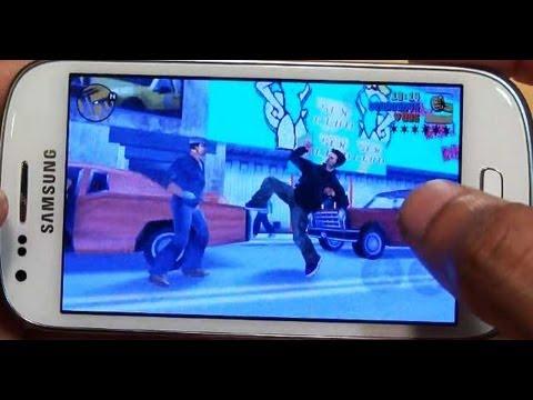 GTA III on Samsung Galaxy S3 MINI GT-i8190