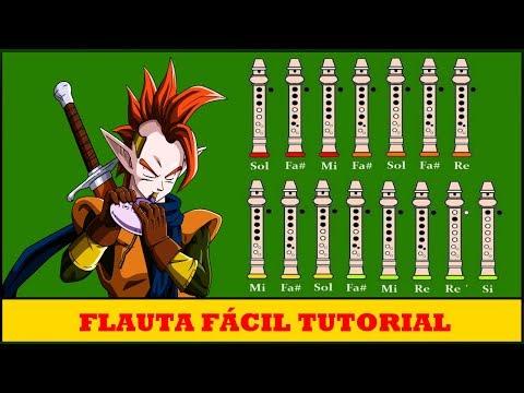 Tapion Theme en Flauta Con Notas Explicadas