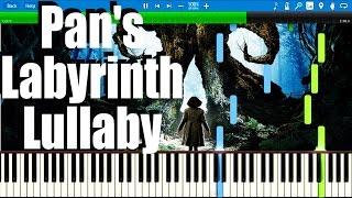 Pan 39 S Labyrinth Lullaby El Laberinto Del Fauno Synthesia Piano Tutorial