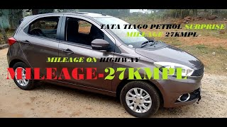 Tata Tiago Petrol mileage after servicing at 1000km. Watch till end for surprised mileage