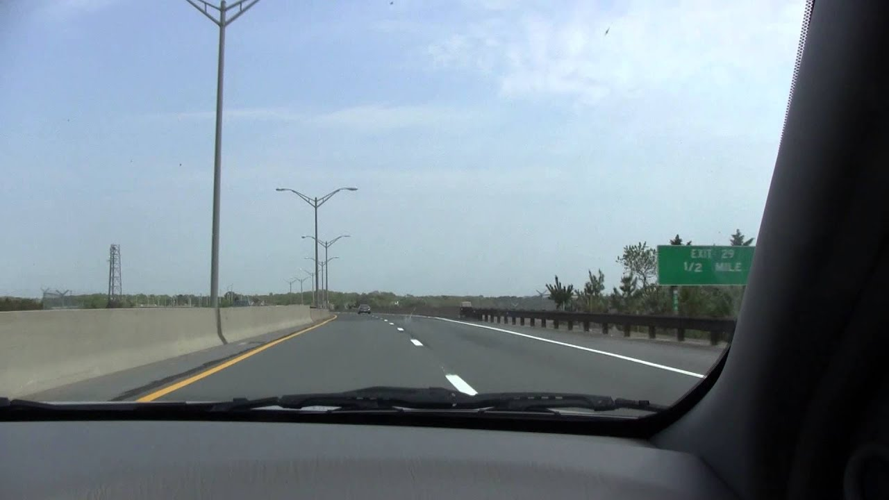 Driving On The Garden State Parkway 5 15 13 Youtube
