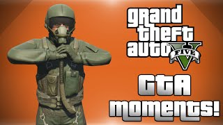 GTA 5 Online! - Flight School DLC, Wildcat: The Album, Angry Nogla & More! (Funny Moments)