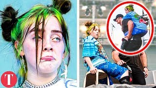 10 Times Billie Eilish Broke Down On Stage Moments
