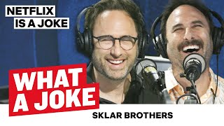 The Sklar Brothers Roasted Each Other | What A Joke | Netflix Is A Joke