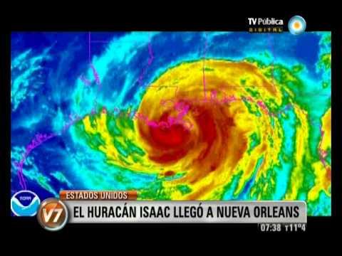 lv7 2012 08 29 Huracán Isaac llegó a Nueva Orleans
