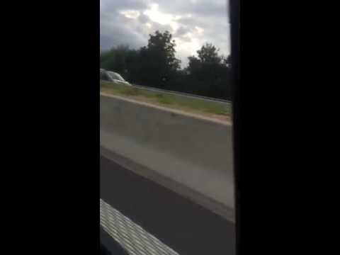 Vidéo de l'accident sur l'E42 03/07/2016