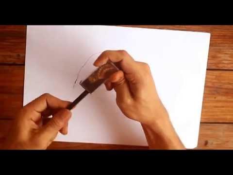 Video Tutoria cara membuat lukisan Van Gogh diatas kertas