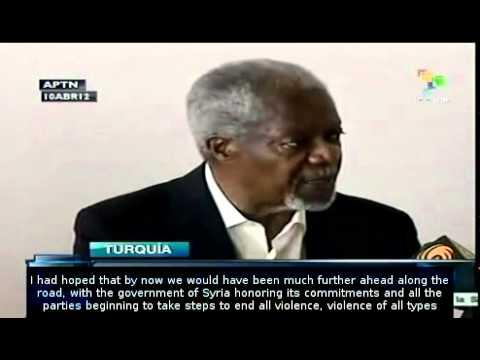 Syria: Kofi Annan says still hope for peace plan
