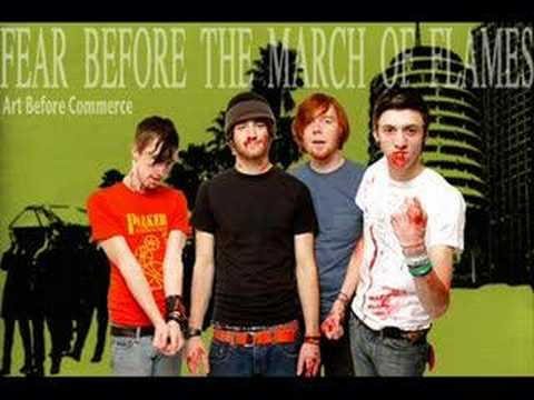 Fear Before The March Of Flames - On The Brightside She Could Choke