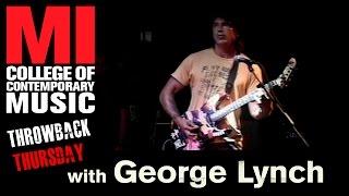 George Lynch - Musicians Institute(MI)が2005.10.20に行われたギター・クリニック71分の映像を公開 thm Music info Clip