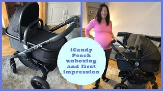 iCandy Peach Travel system pram unboxing and first impressions || Pram review