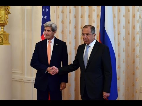 Переговоры С.Лаврова и Дж.Керри | Sergey Lavrov held talks with John Kerry