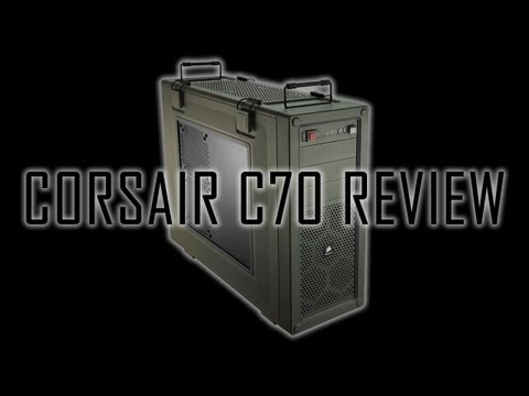 Corsair Vengeance C70 Case Review