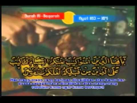 Muammar Za &chumaidi   Surah 'al Baqarah' Verse 183   184 Part 1 video