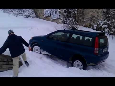Honda HR-V Snow test