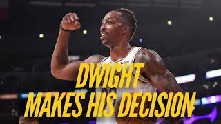 Dwight Howard Reveals His Decision